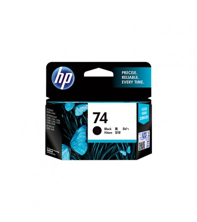HP 74 Black Original Ink Cartridge (CB335WA)
