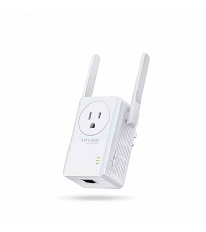TPLink TL-WA860RE 300Mbps Wi-Fi Range Extender with AC Passthrough (White)