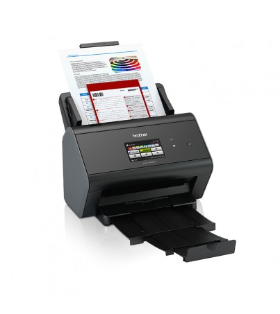 Brother Wired & Wireless Network Document Scanner for Mid to Large Size Work groups(ADS-2800W)