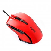 USB Optical Mouse RAPOO (V20, Gaming) Red