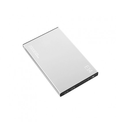 POWER BANK 20000 mAh  Eloop (E14) - Silver