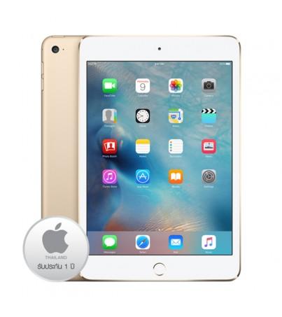 แอปเปิ้ล ไอแพด มินิ4 16GB 4G (JA,ZP) - Gold Activated -ประกัน 1ปี