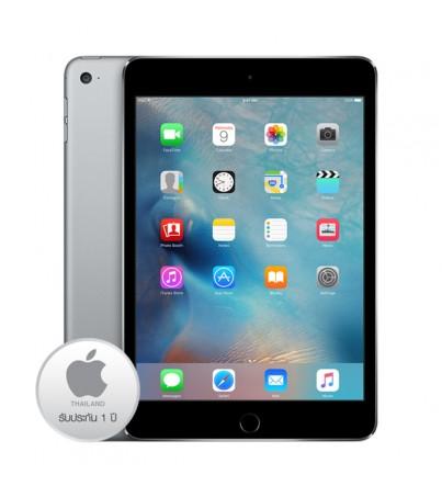 แอปเปิ้ล ไอแพด มินิ4 64GB 4G (JA,ZP) - Space gray Activated- ประกัน 1ปี