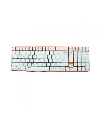 Rapoo Wireless Keyboard E1050 (KB-E1050-RD) RED
