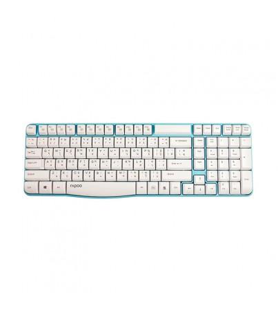 Rapoo Wireless Keyboard E1050 (KB-E1050-BL) BLUE