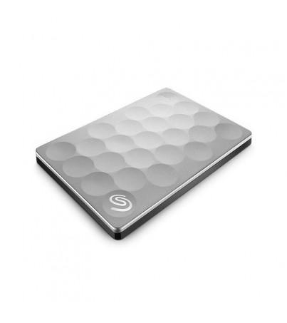 Seagate Backup Plus Ultra Slim Portable Drives 1TB-2.5 inches - Platinum color