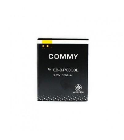 Commy SAMSUNG แบตเตอรี่มือถือ Samsung Galaxy J7 - 3000mAh