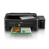 Epson L455+Tank Print-Copy-Scan-Wi Fi พร้อมหมึกคุณภาพสูง Epson (Black)