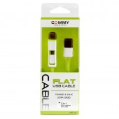 Commy Data Cable DC 221 Flat 2in1