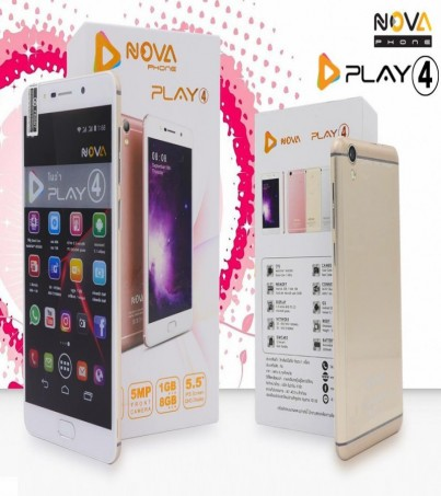 Nova Play4 (8GB) - Gold