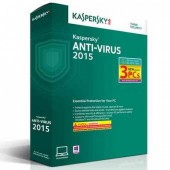 Kaspersky Anti-Virus 2015 (3 PCs) - KAV03BSV15FS