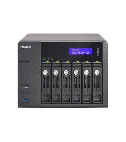 NAS BUSINESS HIGHT END TOWER 6 BAY (TVS-671-I3-4GB)