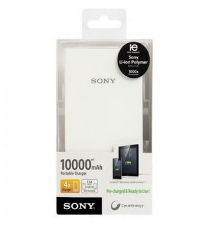 SONY Power Bank 10000mAh รุ่น CP-V10A (White)