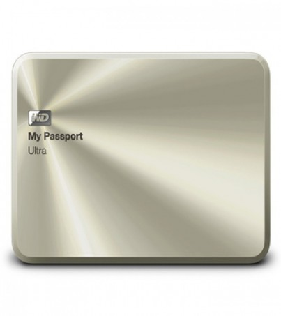 WD MY PASSPORT ULTRA 1TB Metal Edition (WDBTYH0010BCG-PESN) - China Gold