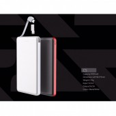 Alpha-x C5 Powerbank 5000mAh+usb charger cable 1A 20cm