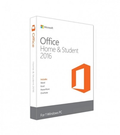 Microsoft (FPP) 79G-04679 Office Home and Student 2016 Win English APAC EM Medialess P2