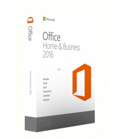 Microsoft (FPP) T5D-02698 Office Home and Business 2016 32/64 English APAC EM DVD w/Thai SLP P2