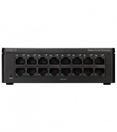 Cisco SF95D-16-AS SF95D-16 16-Port 10/100 Desktop Switch