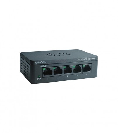 Cisco SG95D-05-AS SG95D-05 5-Port Gigabit Desktop Switch