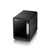 ZYXEL NAS-326 2-BAY + Seagate IronWolf HDD 3TB (ST3000VN007) Hard Drive for NAS 5900RPM Cache 64MB