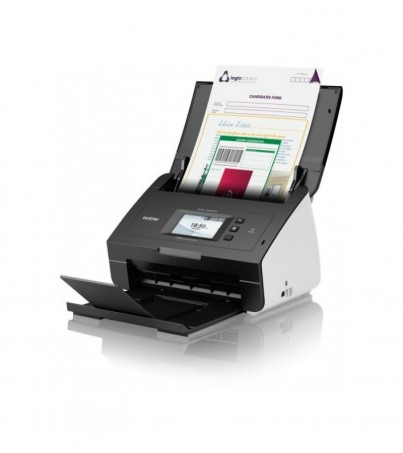 Brother Scanner ADS-2600W Network and Wireless High Speed 2-sided Document Scanner