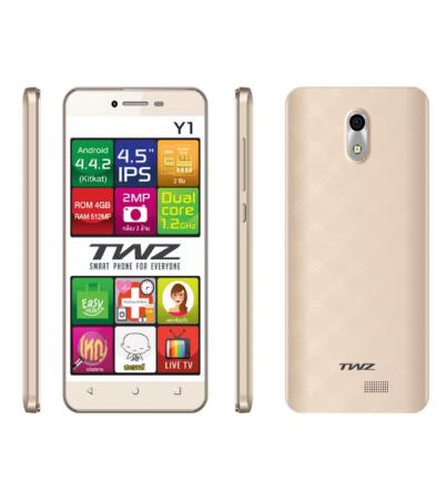 TWZ Y1 3G 4GB - (Gold)