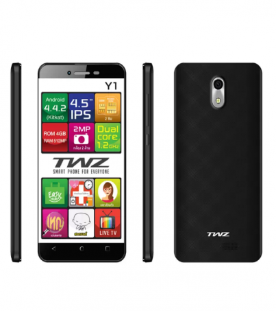 TWZ Y1 3G 4GB - (Black)
