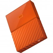 WD My Passport New Model 1TB (Orange) (WDBYNN0010BOR-WESN)