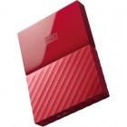 WD My Passport New Model 1TB (Red) (WDBYNN0010BRD-WESN)
