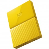 WD My Passport New Model 1TB (Yellow) (WDBYNN0010BYL-WESN)