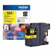 Brother Ink LC-563Y - Yellow