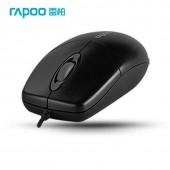 Rapoo Optical Mouse รุ่น N1020 เมาส์แบบมีสายหัว USB - Black