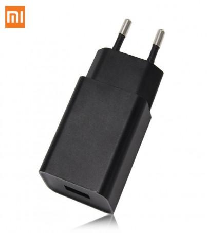Original Xiaomi EU Plug Wall Charger USB Power Adapter For Xiaomi Smartphone - Black