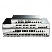 DLINK (DGS-1510-20)16-port UTP 10/100/1000Mbps, 2-port Gigabit SFP; 2-port 10G SFP+ Smart Switch (H/W : A1, Rackmountable)