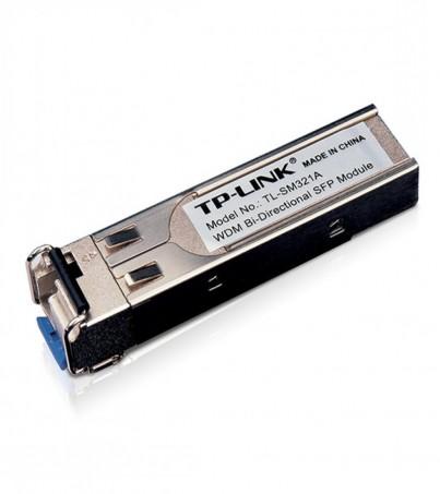 TP-link(TL-SM321A)1000Base-BX WDM Bi-Directional SFP Module, LC connector, TX:1550nm/RX:1310nm, single-mode, 10km