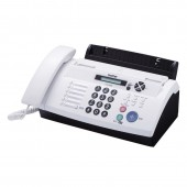 Brother FAX-878 Plain Paper FAX With Phone And Copier(White)