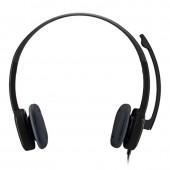 Logitech Stereo Headset H151 - Black
