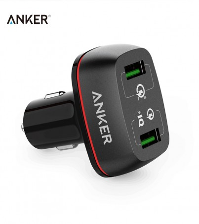 Anker PowerDrive+ 2 with Quick Charge 3.0 - Black