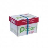กระดาษต่อเนื่อง T.K.S. 9 x 5.5 / 2 ชั้น