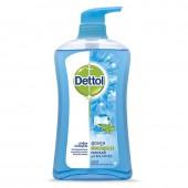 Dettol Shower Gel Cool 500 ml. เจลอาบน้ำแอนตี้แบคทีเรีย สูตรคูล