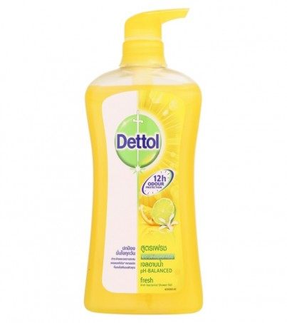 DETTOL SHOWER GEL FRESH 500 ML.