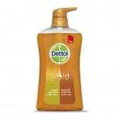 Dettol Gold Shower Gel Classic Clean 500 ml. โกลด์ สบู่เหลวอาบน้ำ สูตร คลาสสิค คลีน
