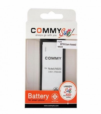 Commy Battery Samsung Galaxy note5 2700mAh