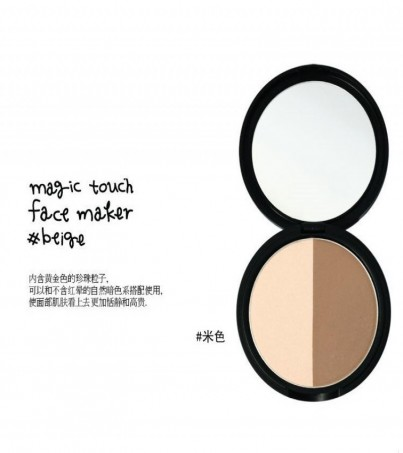 3CE Stylenanda Magic Touch Face Maker # Beige คอนทัวร์+ไฮไลท์