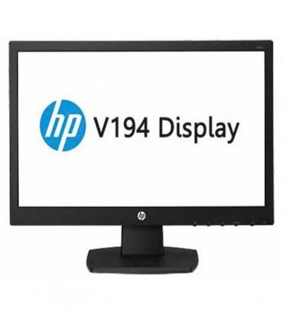 HP V194 18.5-Inch LED Backlit Monitor (V5E94AA) (Black)