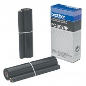 Brother Ribbon Roll FAX CONSUMABLE PC-202RF 450 SHEETS