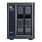 WD My Cloud Pro PR2100 0TB (WDBBCL0000NBK) 2Bays support camera up to 27 cameras