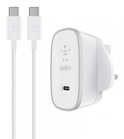 Belkin USB-C Home Charger + USB-C to USB-C Cable