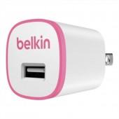 BELKIN HOME USB CHARGER 5วัตต์ รุ่น F8J013TT PINK ที่ชาร์จ หัวชาร์จ สมาร์ทโฟน อุปกรณ์พกพา 5 วัตต์