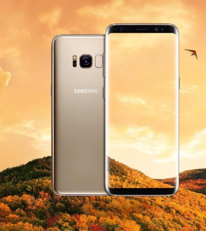 Samsung Galaxy S8 Gold เครื่องศูนย์ ประกัน1ปี